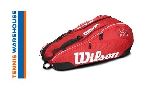 Wilson Federer Team III 6-Pack Bag video