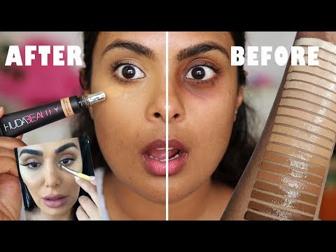 Is this really the best concealer? HUDA BEAUTY OVERACHIEVER REVIEW