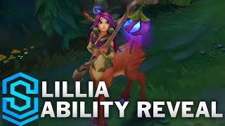 Lillia Ability Reveal - The Bashful Bloom | New Champion