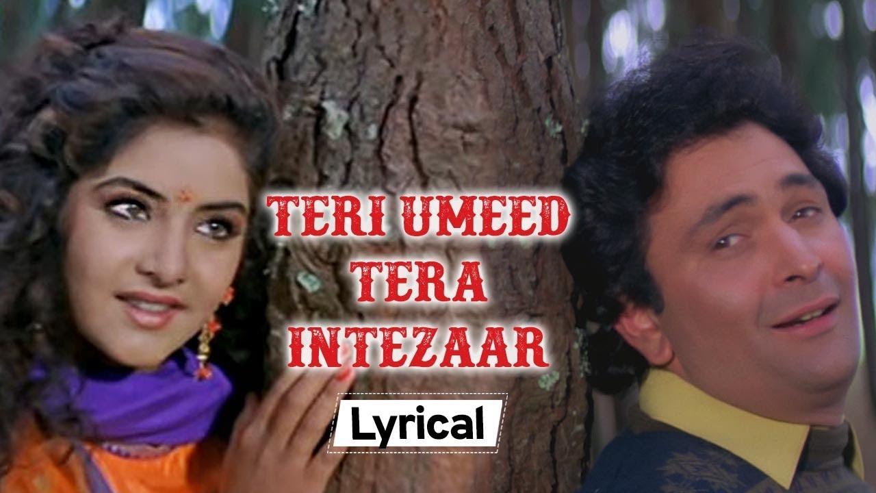 Teri Umeed Tera Intezar  Song Lyrics in Hindi