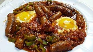 Ojja aux Merguez et aux œufs | Cuisine Tunisienne