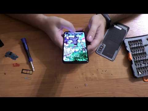 Замена платы зарядки на Samsung A50 / Самсунг А50 . Телефон уронил в море. Александр Догадин