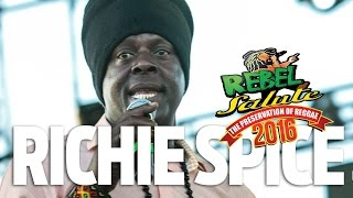 Richie Spice Live at Rebel Salute 2016