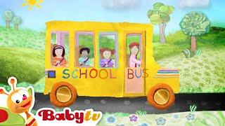 The Wheels on the Bus - Nursery Rhymes | BabyTV