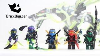 Lego Ninjago Minifigures Collection Summer 2015 - BrickBuilder