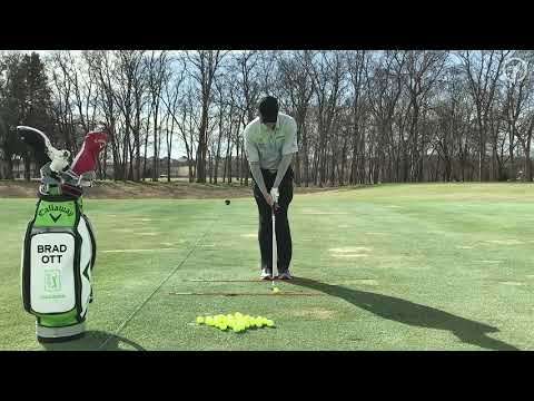 Maintain Proper Ball Position Throughout Your Golf Bag