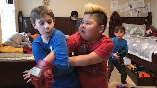 Kids Fighting | TigerFamilyLife~