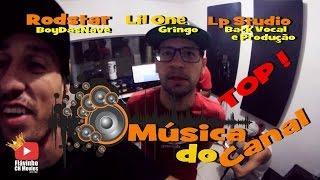 Making of Gravação Música #NO CANAL DO CH part Rodstar part Lil One e LP na LP STUDIO BRASIL