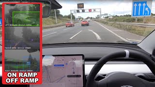 Off Ramp WIN, On Ramp FAIL! - EU Law BAN Tesla HW3 FSD Computer Part 2/2