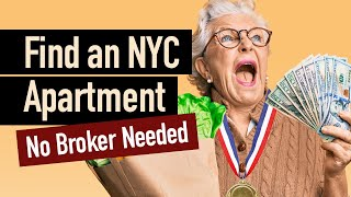 Finding a New York Apartment Without a Broker Fee • How to Avoid the Realtor Fee in NYC
