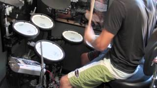 Children of Bodom - if you want peace prepare for war drum cover
