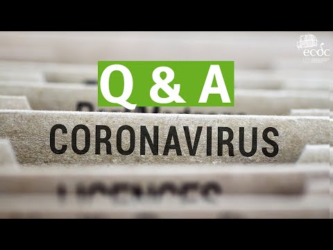 NOVEL CORONAVIRUS - QUESTIONS AND ANSWERS