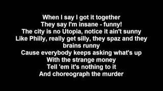 Tech N9ne - Give It Up - Lyrics (ft. Lebowski & Ces Cru)