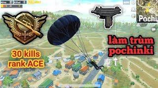 PUBG Mobile - Solo Squad Rank ACE Với 30 Kills | Combo Cực Độc Làm Trùm Pochinki