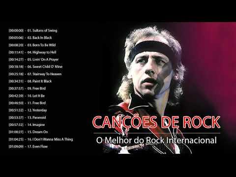 Rock Classico Internacional  - 100 Melhores Musicas de Rock de Todos Os Tempos