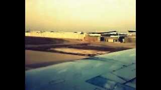 preview picture of video 'Takeoff from Basrah Internaional Airport اقلاع من مطار البصرة الدولي'