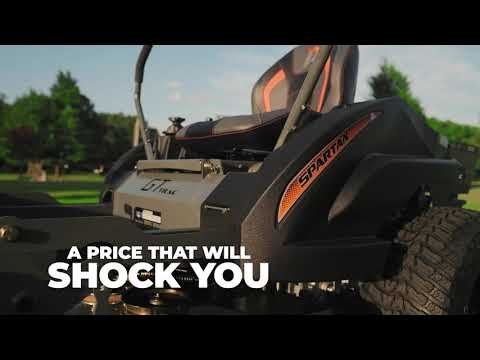 2021 Spartan Mowers RZ Pro 54 in. Briggs and Stratton Commercial 25 hp in La Marque, Texas - Video 1