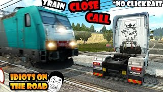 ★ IDIOTS on the road #40 - ETS2MP | Funny moments - Euro Truck Simulator 2 Multiplayer