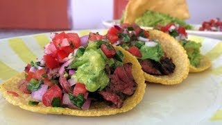 How to Make Border Grill's Steak Tacos   Get the Dish