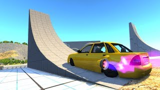 High Speed Jumps/Crashes Compilation #54 - BeamNG Drive Satisfying Car Crashes