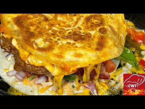 Quesadilla Burger Recipe   Quesadilla Burger Better Than Applebee's Recipe