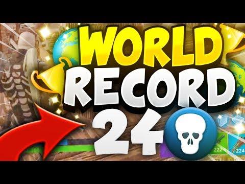 WORLD RECORD 24 KILLS EN 50vs50 v2 ?!   FORTNITE BATTLE ROYALE