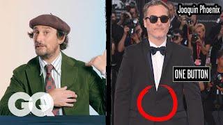 Tuxedo Expert Breaks Down Celebrity Tuxedos, From Joaquin Phoenix to Rami Malek | Fine Points | GQ