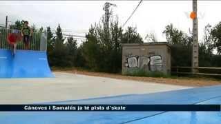 preview picture of video 'VOTV - Cànoves i Samalús ja té pista d'skate'