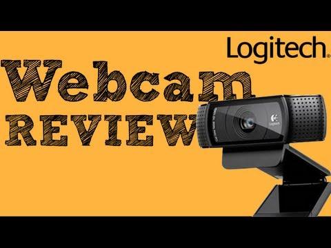 Logitech c920 Webcam REVIEW (HD Web Cam)