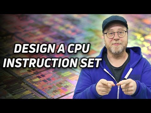 Design Your Own CPU Instruction Set