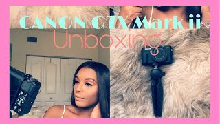 UNBOXING + REVIEW | NEW Canon G7X Mark ii! ♡ Meet Chase!