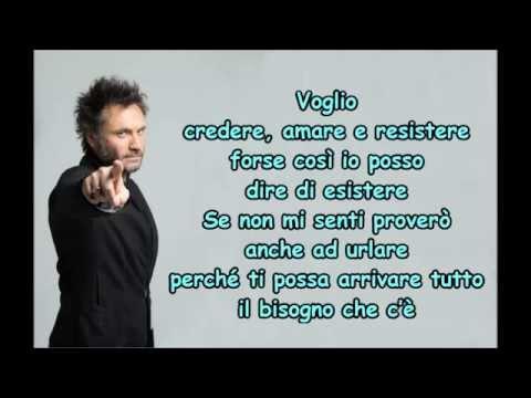 , title : 'NEK - CREDERE AMARE RESISTERE - PRIMA DI PARLARE'