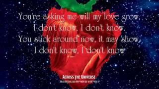 Something - Jim Sturgess {Lyrics}