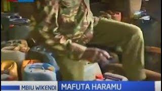 Polisi Eldoret wavamia vituo vya biashara haramu ya mafuta