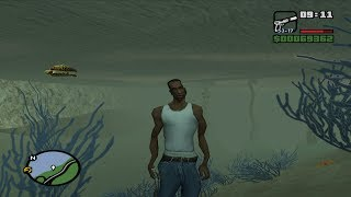 GTA San Andreas   Tips & Tricks   How To Walk Underwater