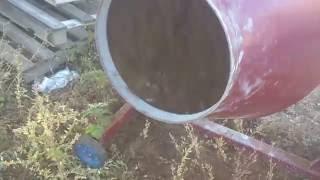 Бетономешалки  КПМ-150 л стальной венец, в наличии от компании БудСтрой - видео 1