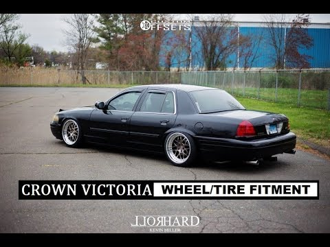 Crown Victoria WHEEL / TIRE FITMENT  ( 17s, 18s ,19s and 20s )