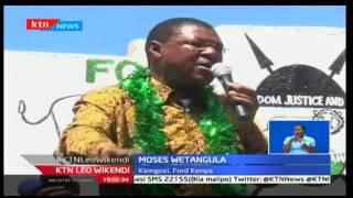 Moses Wetangula aisuta serikali ya Jubilee na kusema kwamba imeshindwa kutekeleza majukumu yake