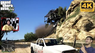 GTA 5: MICHEAL DESTROYED MARTIN MADRAZO'S HOUSE | @AJ Gaming ON @Gaming Tak #GTAMISSIONS7