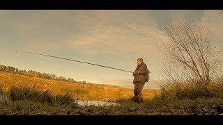 Ловля Окуня на Боковой Кивок Поздней Осенью(Ноябрь) на Блесну. Рыбалка в межсезонье.