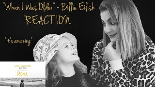 "REACTION TO ""When I Was Older"" BY Billie Eilish"