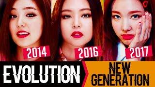 Evolution Of Kpop Girl Groups 2014 - 2017 (New Generation)