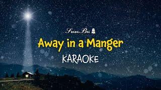 Away in a Manger | Free Christmas Carols [Karaoke with Lyrics]