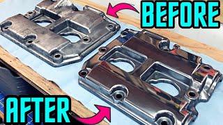 Subaru DiY | How to Polish Your Valve Covers [R-STi Build]