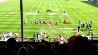 preview picture of video 'Energie Cottbus - St.Pauli 2:0 - Siegesfeier - 2012/2013'