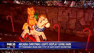 Phoenix city councilmember steps into Arcadia holiday light controversy