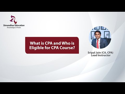 What is CPA Course and Eligibility|Certified Public Accountant ...