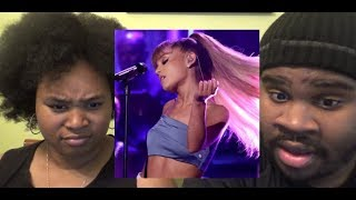 Gambar cover ARIANA GRANDE - SIDE TO SIDE LIVE (JIMMY FALLON) - REACTION