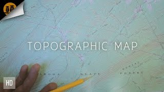 How to Read a Topographic Map ◦ Basic Elements