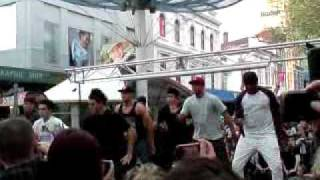 Justice Crew (And Then We Dance) Live at Hobart Mall